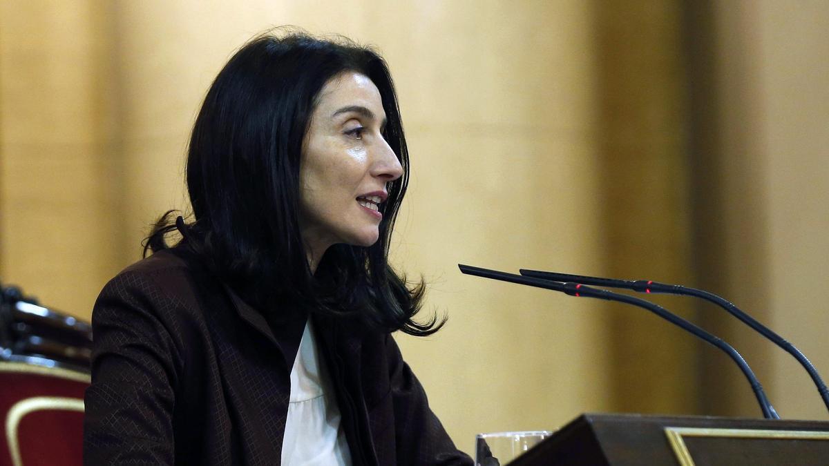 Pilar Llop, la nueva ministra de Justicia.