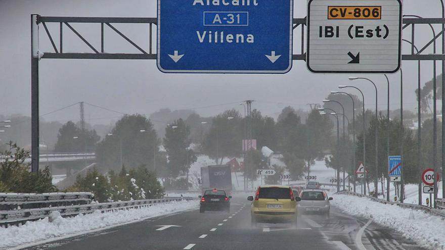 DIRECTO | Temporal de frío y nieve en la provincia de Alicante