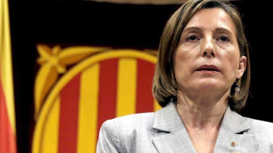 Forcadell pide que Rovira y Puigdemont testifiquen por videoconferencia