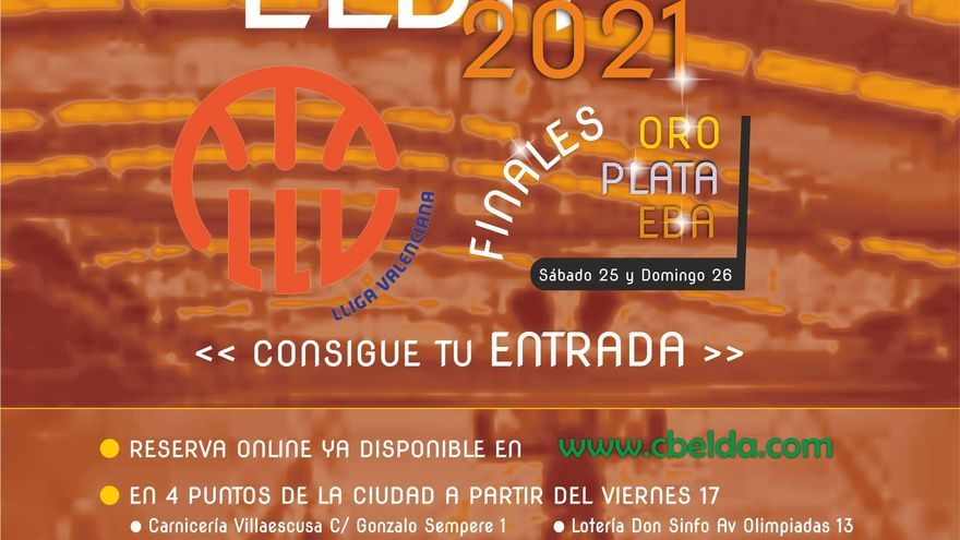 Elda acoge las finales de la Lliga Valenciana este fin de semana