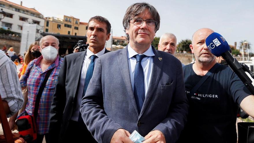 Así maniobró el entorno de Puigdemont la noche de su detención en Cerdeña