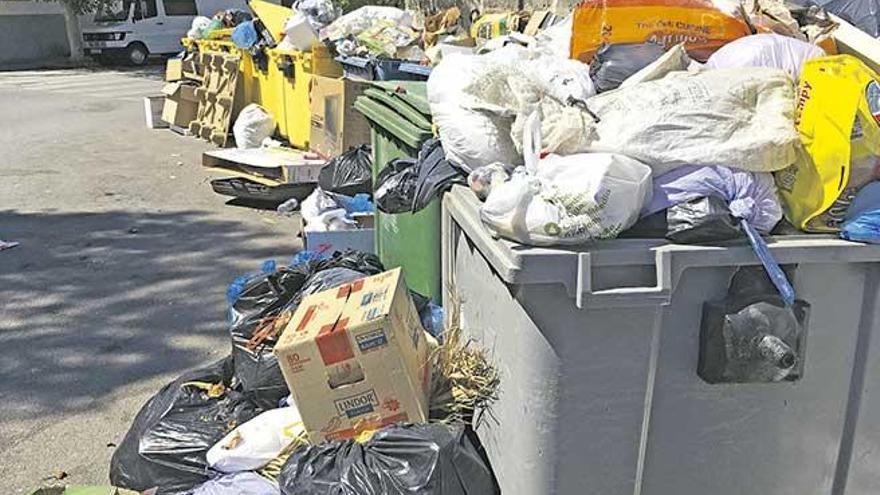 Principio de acuerdo para la suspensión de la huelga de limpieza y recogida de basuras en Manacor