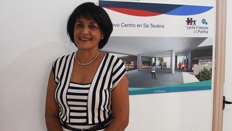 La profesora de inglés  en secundaria, Mary-Anne Pereira.