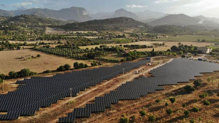 Proyectan tres parques solares en Llucmajor, que suman 22.750 paneles