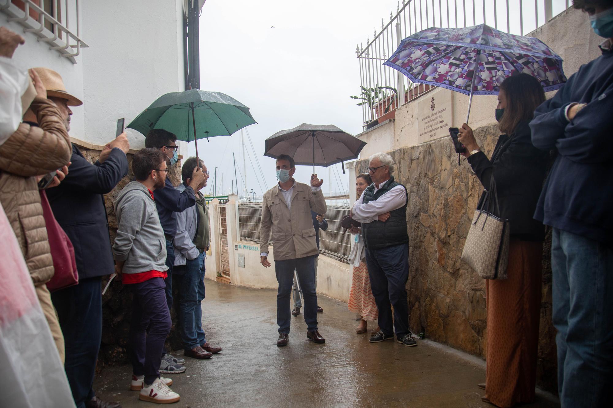 Palma homenajea a Berlanga con una placa en la calle Portassa