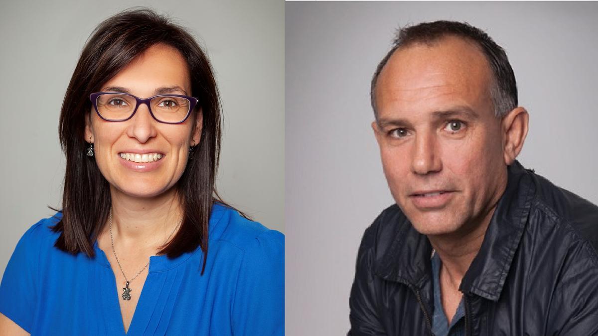 Silvia López y Rafael Fora