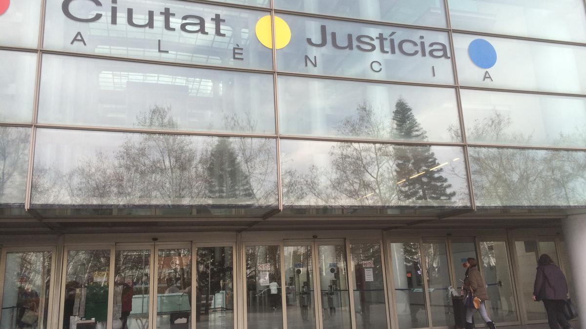 Imagen de archivo de la Ciudad de la Justicia de València