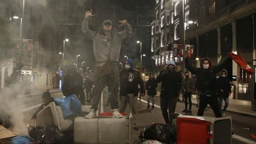 Los disturbios se extienden por España