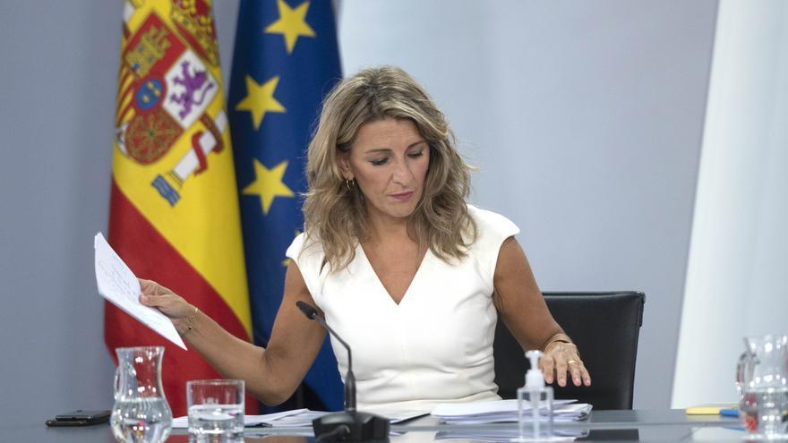 """Díaz pide """"paciencia"""" porque está """"segura"""" de que habrá pacto de Presupuestos"""