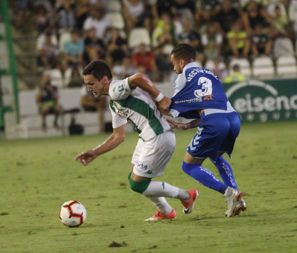 Las imágenes del Córdoba C.F.-Tenerife