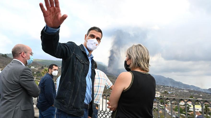 Sánchez visita este sábado por quinta vez La Palma para conocer la evolución de la erupción volcánica