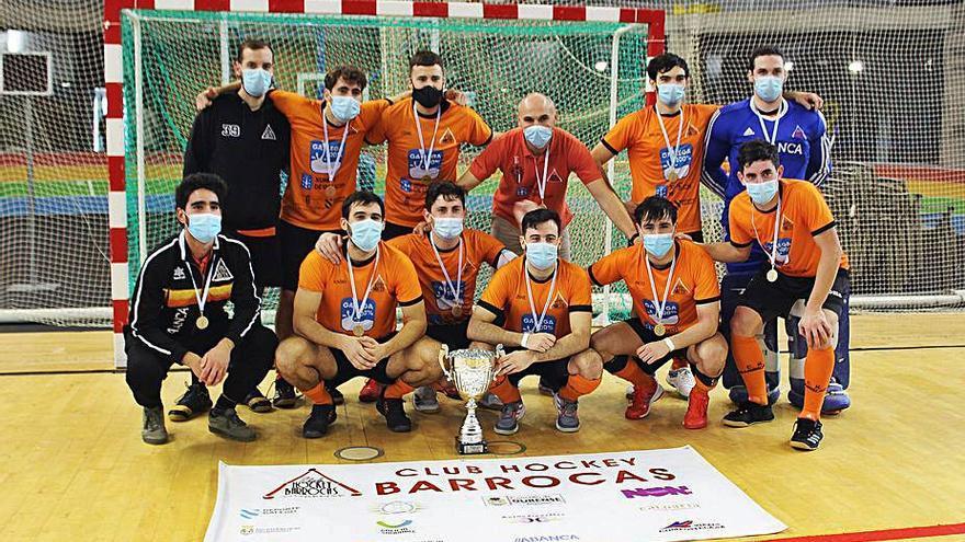 El CH Barrocás se proclamó campeón gallego y se clasifica para el nacional