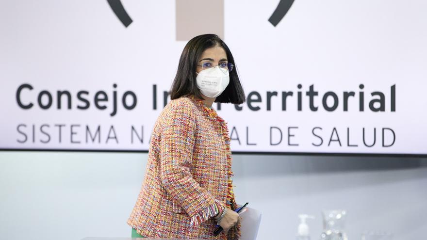 Carolina Darias comparece tras la reunión del Consejo Interterritorial
