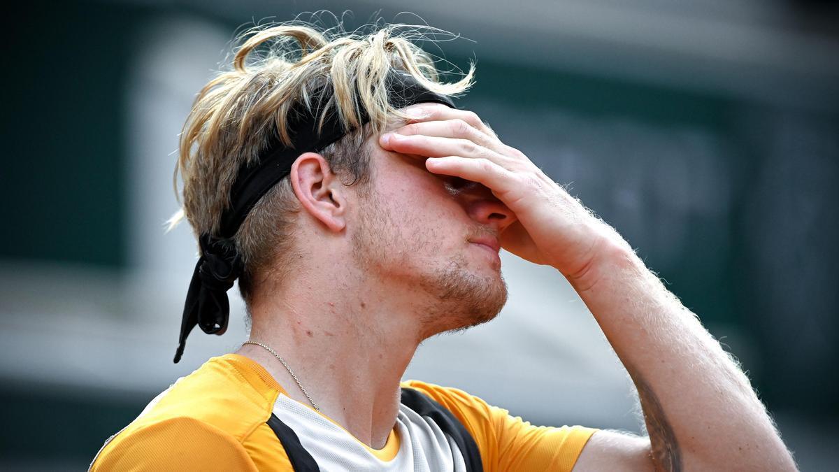 El tenista malagueño Alejandro Davidovich.