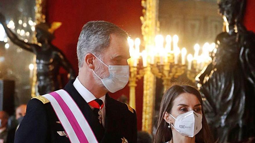 """Austeridad """"a la española"""" en la Pascua Militar"""