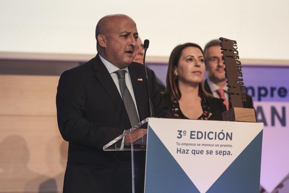 El Grupo Inmobiliario TM logra el premio a la Mejor Trayectoria Empresarial