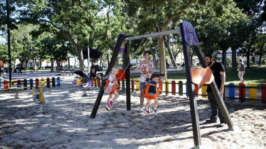 Los parques vuelven a la normalidad
