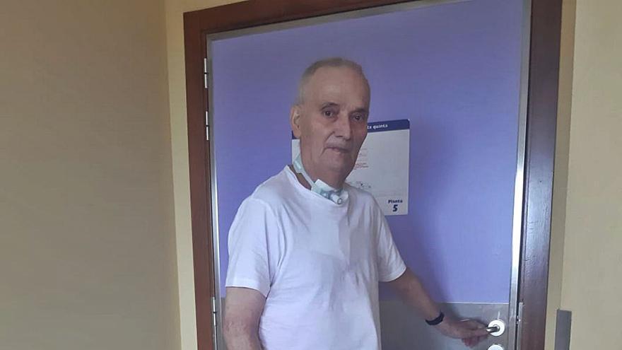 José Pedro vivió para contarlo: vuelve a casa tras 8 meses ingresado por covid, cinco de ellos en la UCI