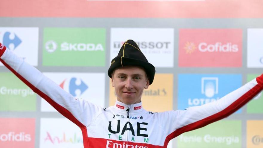 Tadej Pogacar, ganador de la 13ª etapa de la Vuelta a España 2019