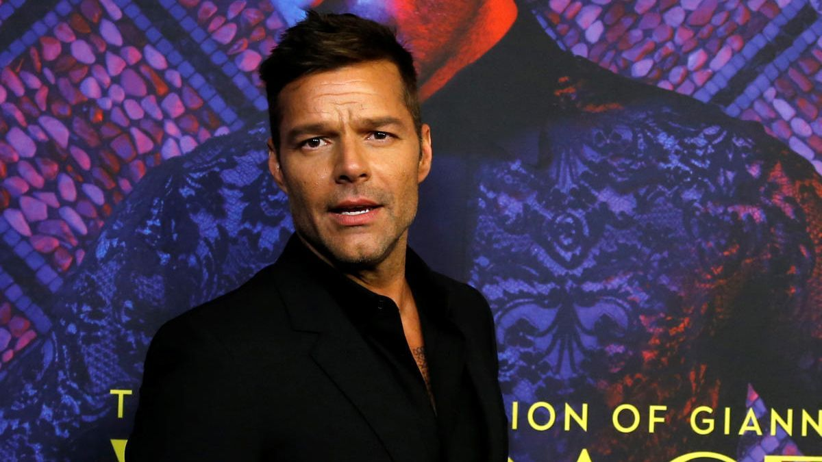 Ricky Martin, in a file image.