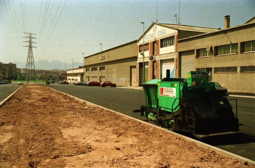 Imatge de l'Avinguda dels Dolors el 1994