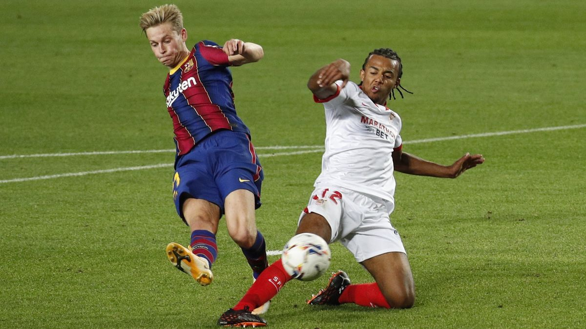 Barcelona y Sevilla se juegan el pase a la final de la copa este miércoles a las 21:00 horas.