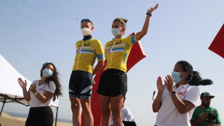 Matti Helminen y Josefine Huitfeldt, imbatibles en la primera etapa de la EPIC Gran Canaria