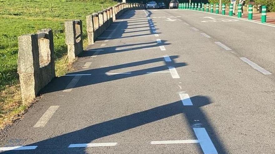 Ponte Caldelas cuenta con 40 nuevos aparcamientos en el Paseo da Calzada