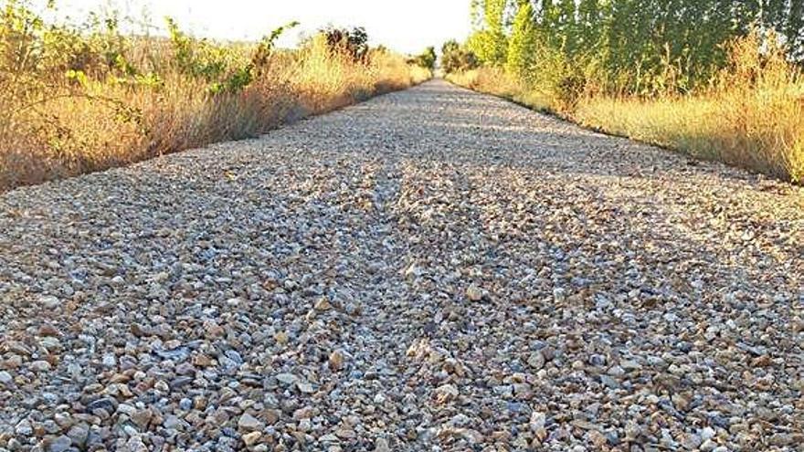 El acondicionamiento del camino natural entre Barcial del Barco y Matilla de Arzón se prolongará hasta enero