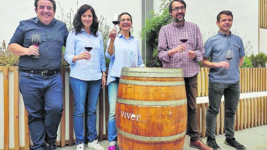 Pepe Mendoza traslada su filosofía al viñedo de Viver