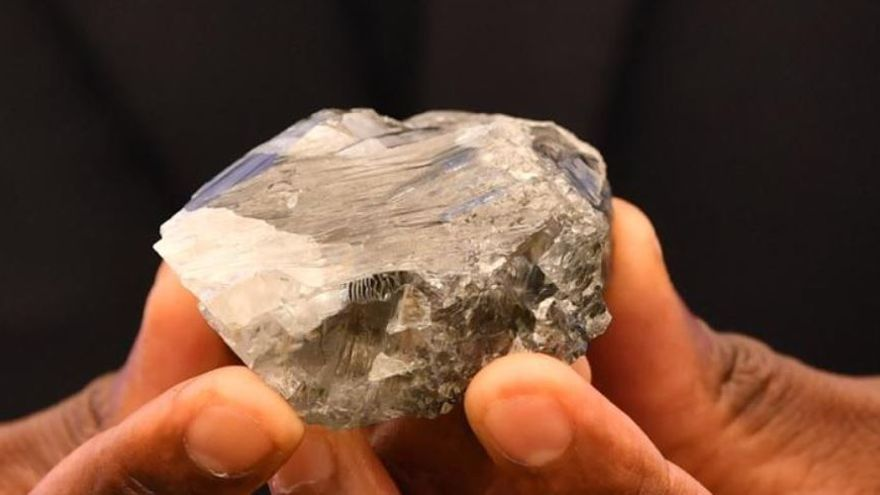 Encuentran en Botsuana uno de los diamantes más grandes del mundo