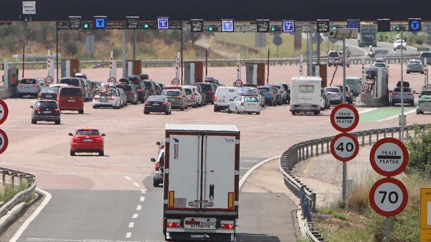 El peaje de las autopistas subirá un 0,84% el 1 de enero