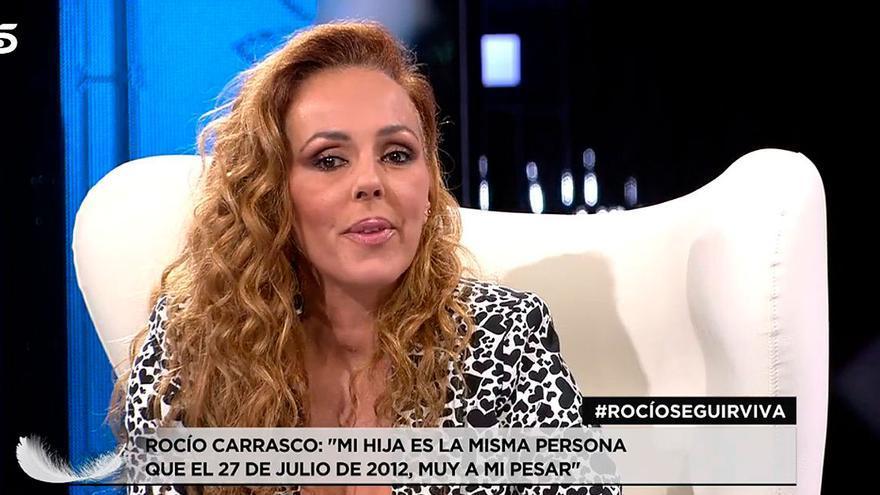 Una de las respuestas más esperadas de Rocío Carrasco: así ha contestado a uno de los más críticos con ella