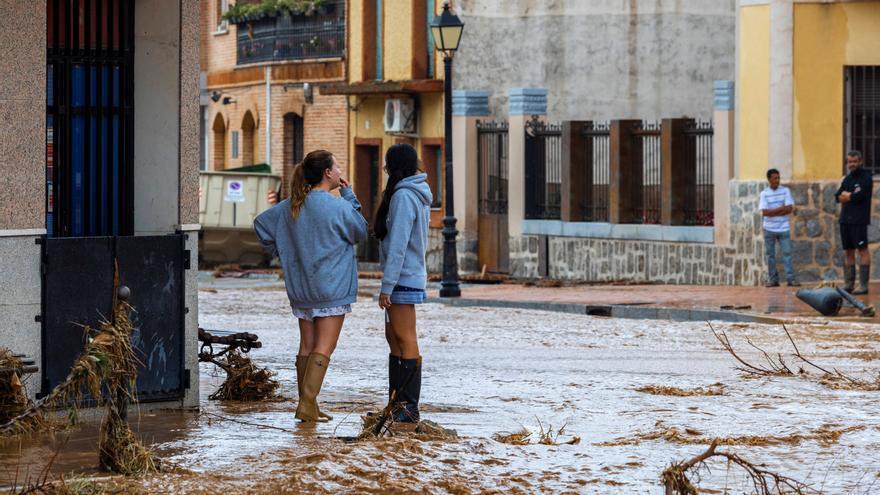 La DANA sigue anegando media España y deja destrozos millonarios