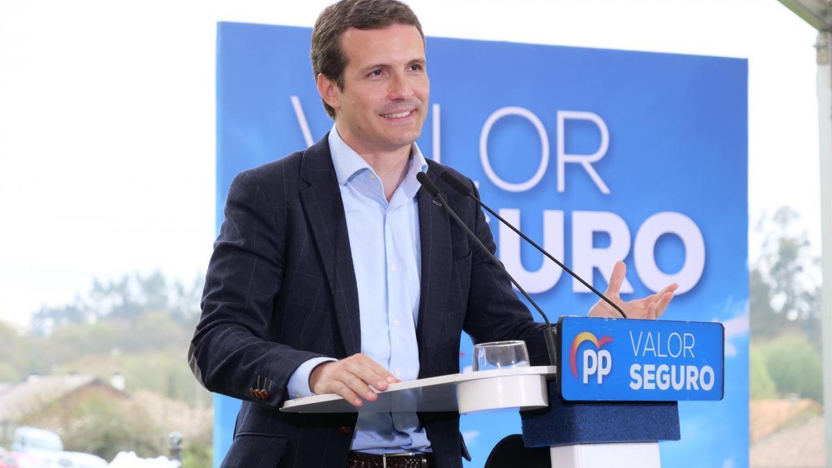 Pablo Casado visita el jueves Extremadura, con actos en Cáceres, Mérida y Badajoz