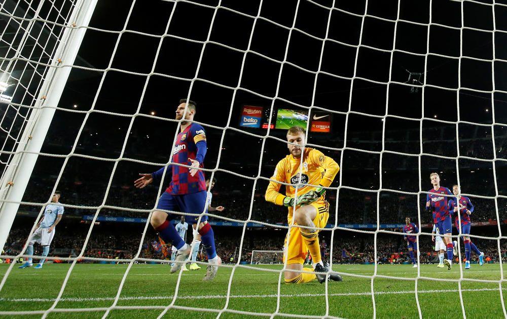 LaLiga: Barcelona - Celta de Vigo. REUTERS