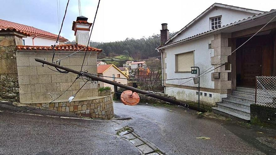 La borrasca deja casi 35 litros por metro cuadrado y ráfagas de viento de 58 km/h