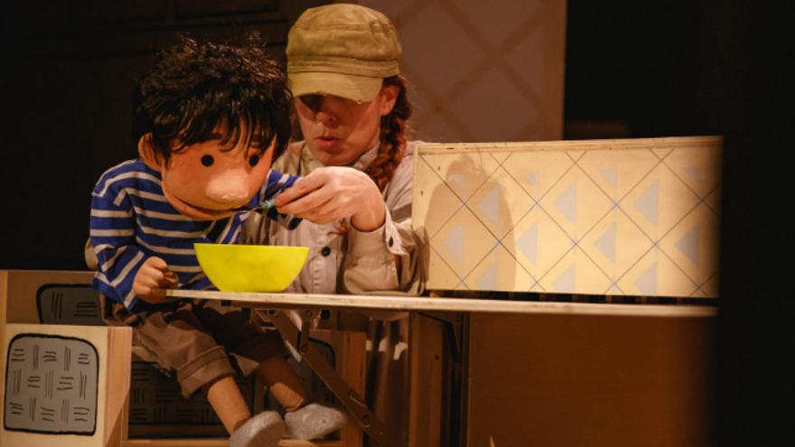 22ª edición Festival de teatro para toda a familia Domingos do Principal - Crusoe