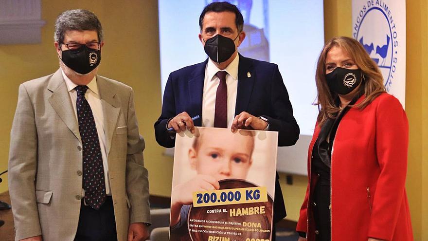 El Ayuntamiento de Murcia colaborará con la campaña '200.000 kg contra el hambre'