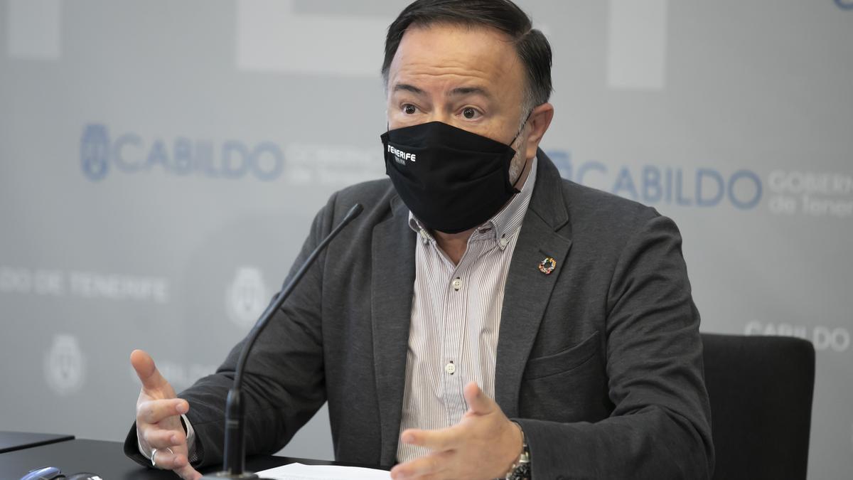 """Martín Plata lamenta que CC y PP """"den por perdido"""" turísticamente el año 2021."""