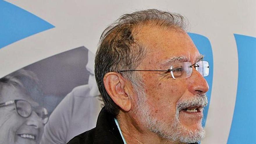 """Manuel Negrín: """"Tenemos 22 plazas sin ocupar en nuestros centros de día para enfermos de Alzhéimer»"""
