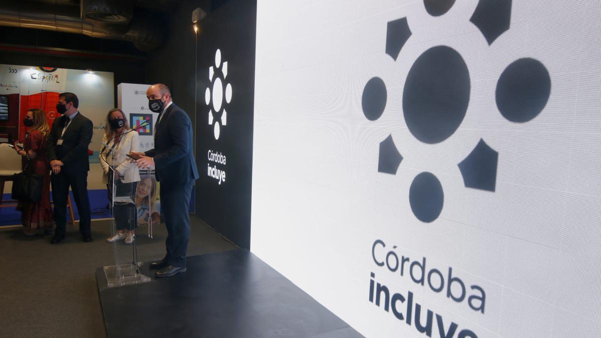 Presentación en Fitur de 'Córdoba incluye'.