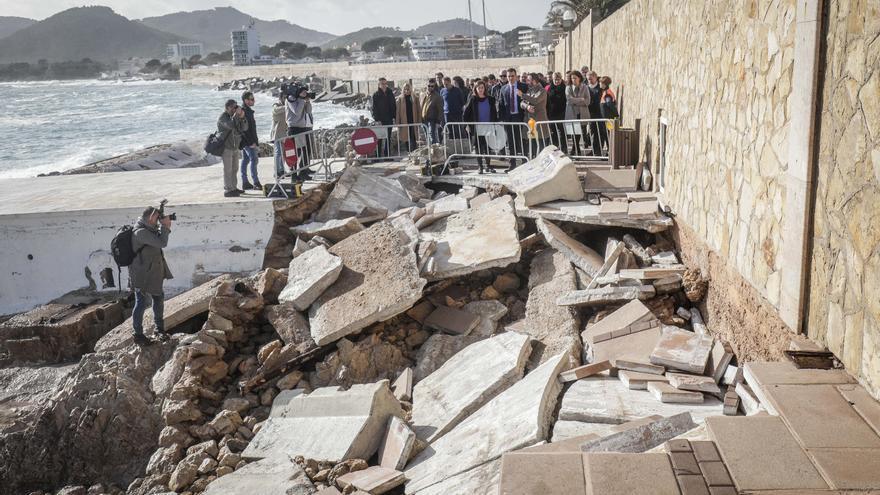 Calvo apacigua el temporal en  Manacor y Capdepera por las ayudas del 'Gloria'