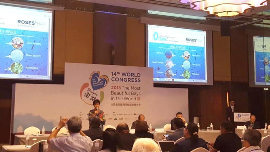 Mindan exposa a Taiwan el model pesquer i la protecció del medi marí a Roses