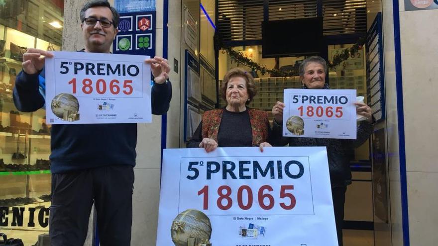 ¿Dónde tocó el Gordo en Málaga en el sorteo de 2017?