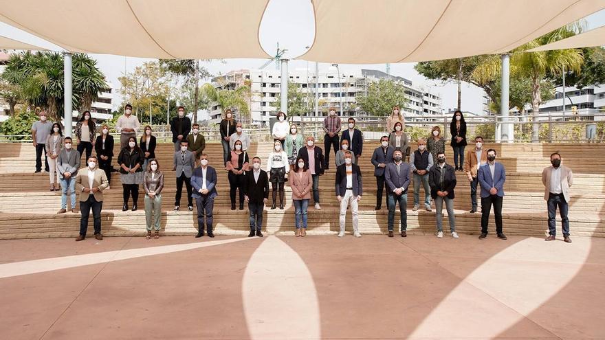 Cs Málaga culmina su proceso de renovación de las agrupaciones locales
