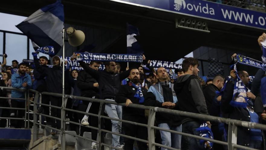 """Symmachiarii pide """"políticas de precios acordes a la situación"""" para la campaña de abonados del Real Oviedo"""