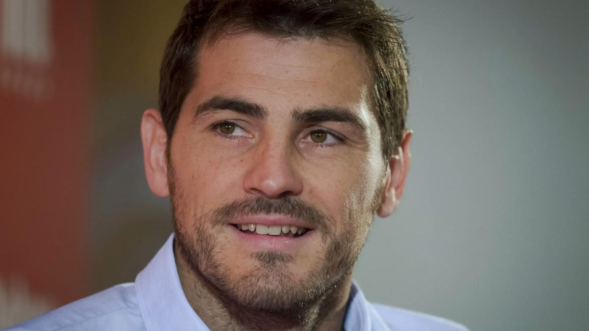 El exportero del Real Madrid, Iker Casillas.