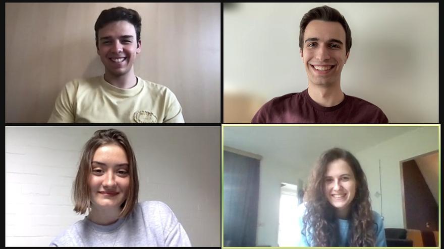 Cuatro estudiantes de la Universitat de Valencia quedan los segundos en la final de Business Talents