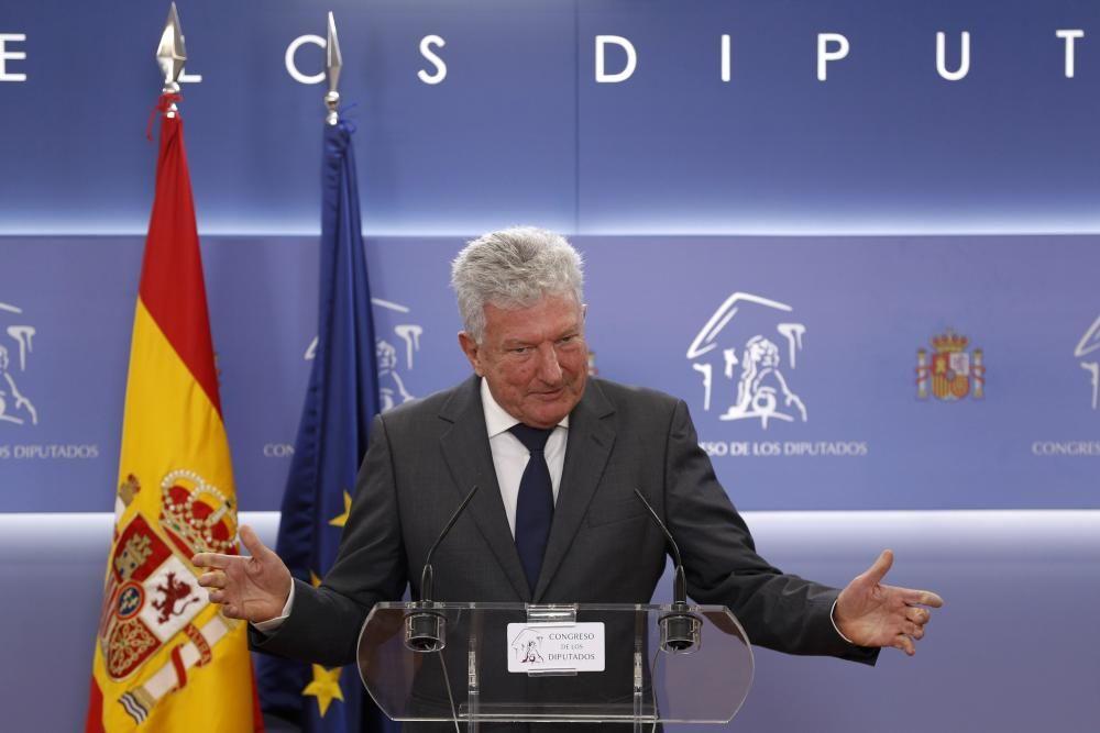 Felipe VI se reúne con Pedro Quevedo (NC)